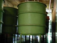 現在使われている大桶。